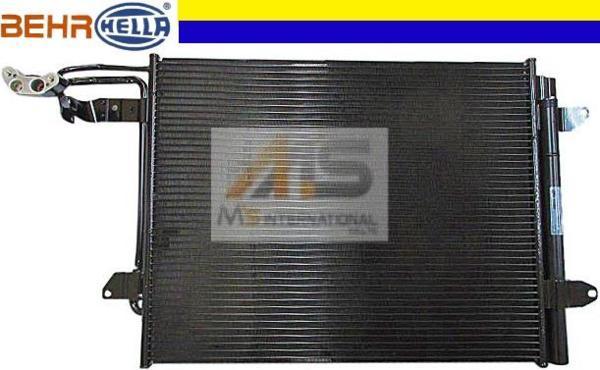 【M's】VW GOLF TOURAN(1T)BEHR_HELLA製 エアコンコンデンサー// ゴルフ トゥーラン 純正OEM ACコンデンサー 1T0-820-411E 1T0820411E_画像1