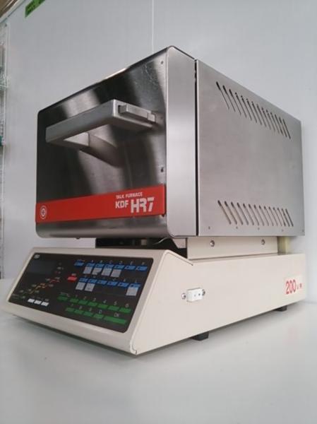 デンケン KDF HR7 マッフル炉 200V 歯科技工 動作良好
