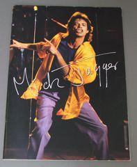 ★★パンフ MICK JAGGER/ 1988年3月日本公演★