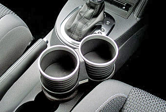 【M's】VW トゥーラン(03y-15y)ALCABO ドリンクホルダー BK/RING_※ 画像はBK+リングの取付けサンプル