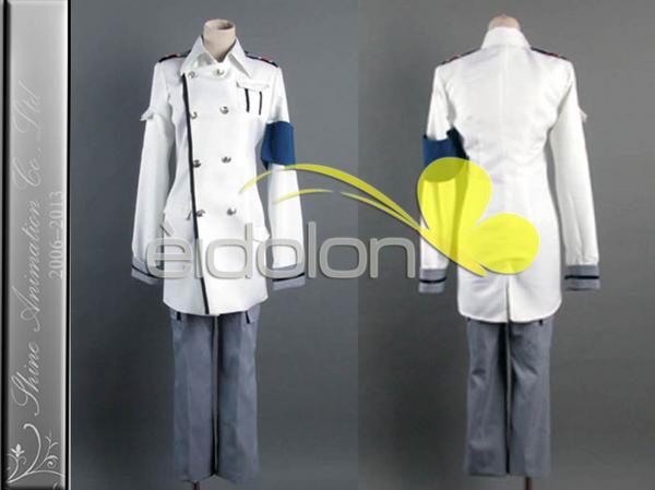EE0001AF ギルティクラウン GHQ軍服 コスプレ衣装 グッズの画像