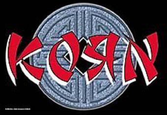 海外限定 公式 Korn コーン 特大布ポスター G183