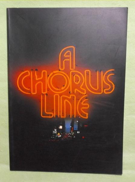 A-【パンフレット】コーラスライン 1987年 ワールドツアー