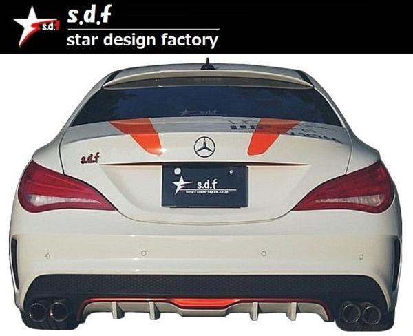 【M's】メルセデス・ベンツ CLA クラス C117 前期 TYPE A エアロ 3点セット s.d.f star design factory Mercedes Benz W117 180 250_画像6