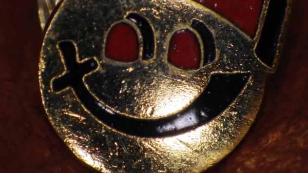 一撃落札★70'S★フリーメイソン★ピンズ★シュライン★バッジ★スマイリー★ビンテージ★秘密結社★シュライナー★フェズハット_画像4