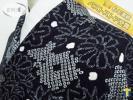 ★着物10★ 1円 絹 総絞り 菊 紅葉 花 楓 鹿の子 袷 小紋 身丈156cm 裄65cm ☆☆