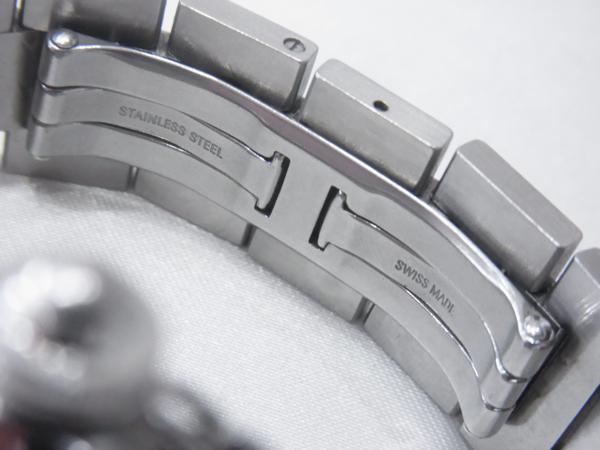 1円~Cartier カルティエ パシャC ビッグデイト ボーイズ オートマ ピンク 本体のみ 腕回り16.5cm 動作OK_画像8
