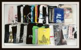 ロックバンド グッズセット/Tシャツ/タオル/缶バッジ/アジカン/9mm/ストレイテナー/Syrup16g【20