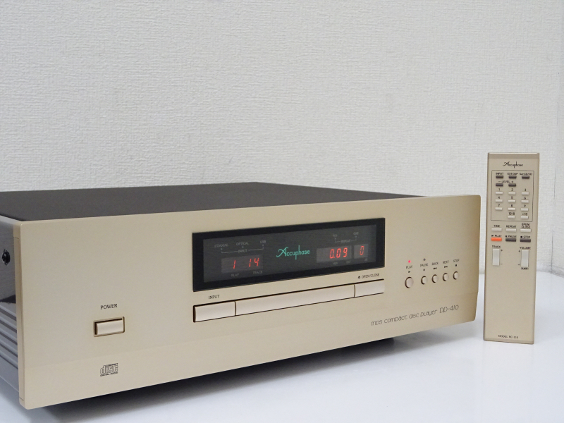 ■□Accuphase DP-410 CDプレーヤー アキュフェーズ 保証・元箱付 □■001144003m□■