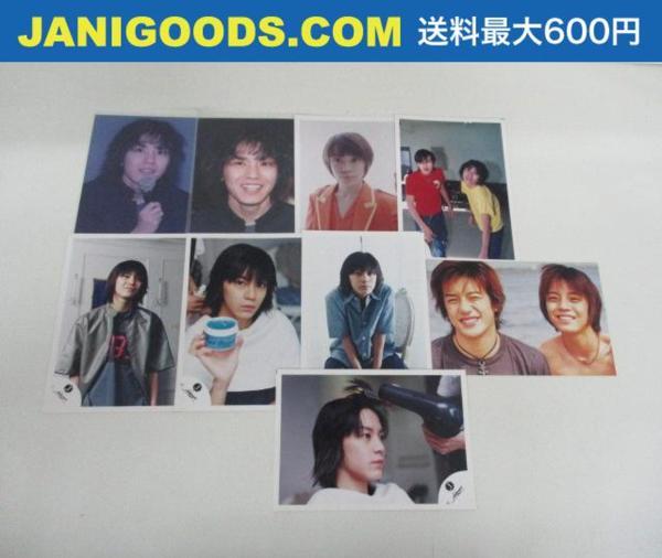 関ジャニ∞ 渋谷すばる 公式写真 混合含む 9枚 Jr時代 Jロゴ ファミクラ含む Kodak/konica