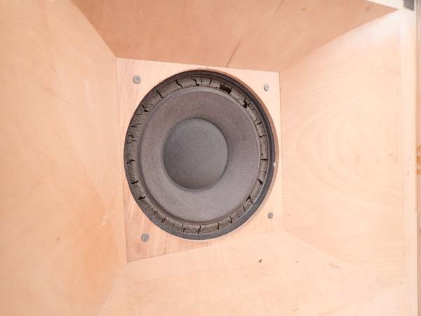 TANNOY 10inch同軸2WAYスピーカーユニット HPD295/コーナー型自作エンクロージャー ペア タンノイ ◆ 4DF33-1_画像5