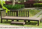 ウッドデッキ天然木 キット7点セット0.75坪 縁台ダークブ