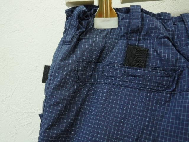 ヒステリックミニ HYSTERICMINI 110cm ナイロン パンツ 紺 チェック_画像7