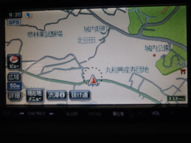 ☆シエンタ NCP81 社外 パナソニック ストラーダ CN-HDS700TD HDDナビ_画像1