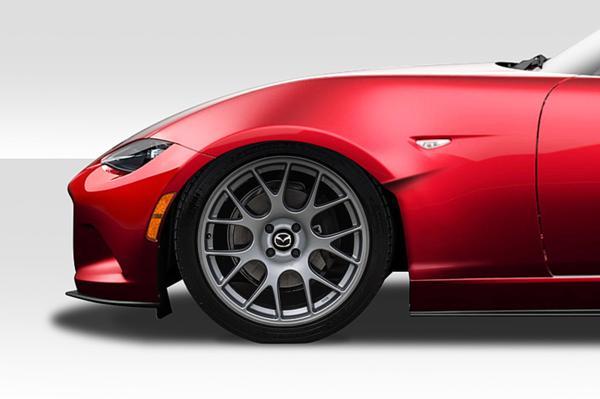 2016-2018 マツダ MX5 ミアータ ロードスター Duraflex Competition フロントフェンダー 左右セット エアロ ボディキット FRP_画像1