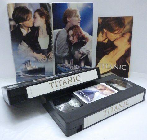 中古 VHS ビデオ TITANIC タイタニック (字幕スーパー版)2本組■送料込_画像2