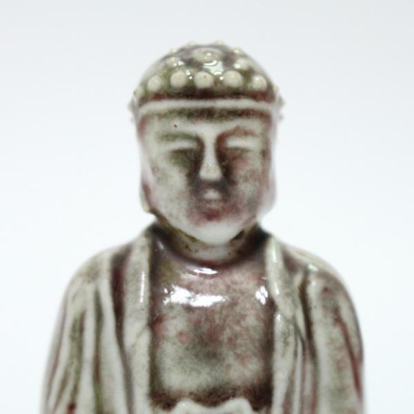 古そうな陶器の仏像 時代物 1110M26r_画像5