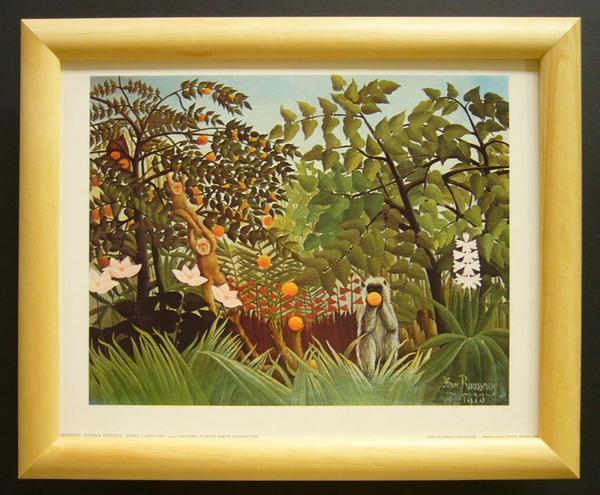 名画ポスター ロゼウ「Exotic landscape」-新品-即決-_画像1