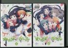 w4280 「わかばガール1+2」2巻セット レンタル用DVD/小澤亜李/井澤美香子