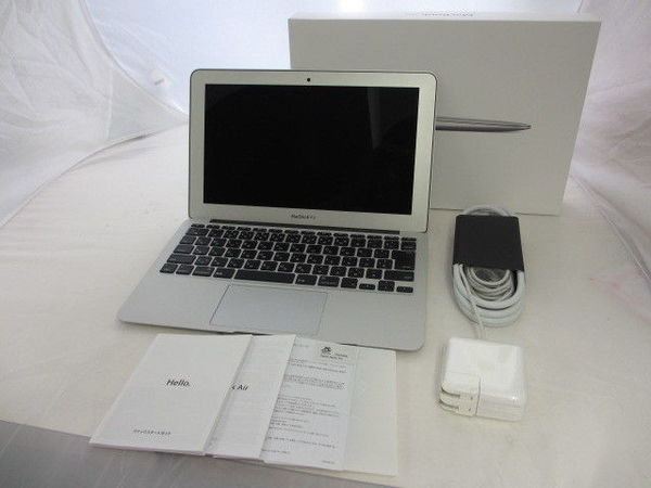 [極美品1円] Apple Macbook Air MD711J/A A1465 Core i5 1.3GHz 4GB 128GB 11.6インチ Mid 2013