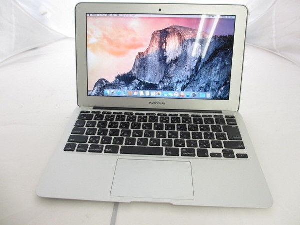 [極美品1円] Apple Macbook Air MD711J/A A1465 Core i5 1.3GHz 4GB 128GB 11.6インチ Mid 2013_画像3