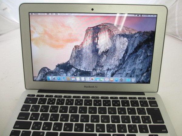 [極美品1円] Apple Macbook Air MD711J/A A1465 Core i5 1.3GHz 4GB 128GB 11.6インチ Mid 2013_画像4