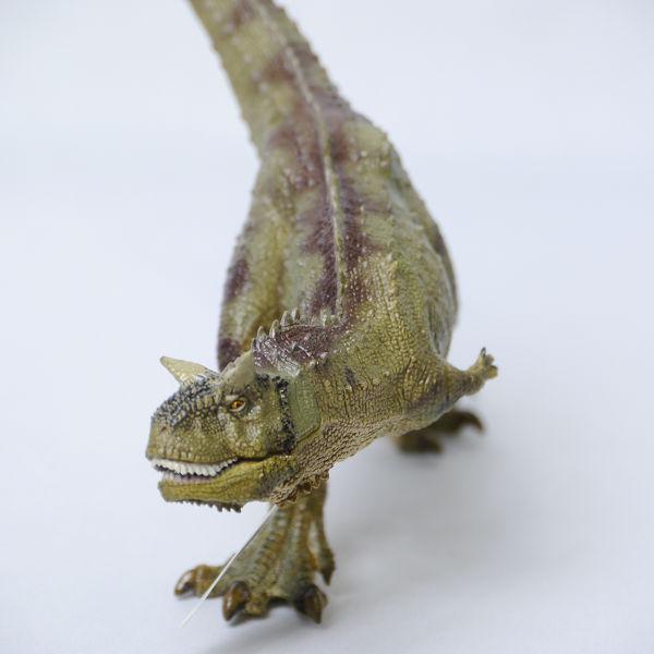新品☆Papo社 カルノタウルス 55032☆リアル恐竜フィギュア_画像3