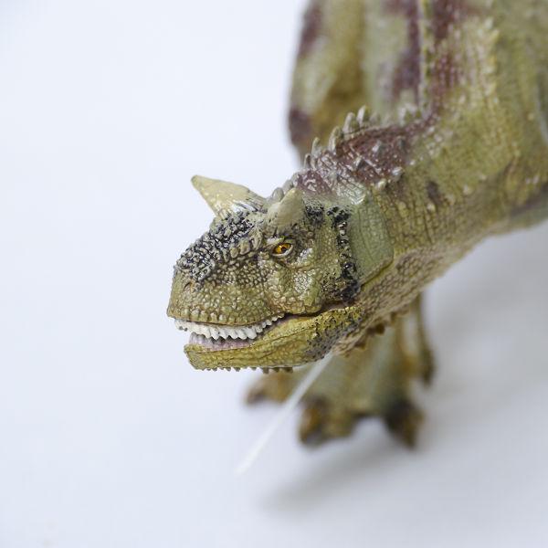新品☆Papo社 カルノタウルス 55032☆リアル恐竜フィギュア_画像4