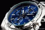 1円 セイコー 逆輸入 サファイヤブルー 米国 PULSAR クロノグラフ 腕時計
