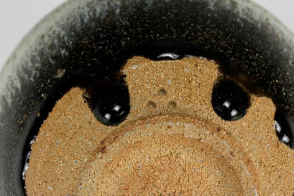 【佳香】十三代 中里太郎右衛門 朝鮮唐津茶碗 茶道具 共箱 栞 本物保証_画像3