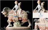 【雅】リヤドロ 置物「少年少女の行進」1489 本物保証