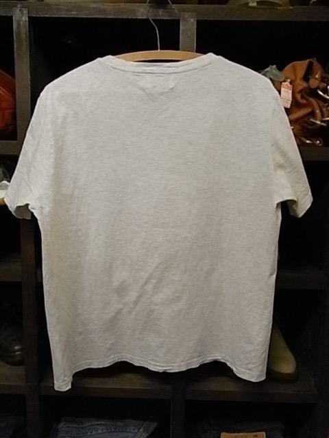 日本製 EDIFICE 霜降りグレー Vネック 半袖 Tシャツ SIZE 48 エディフィス_画像2