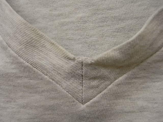 日本製 EDIFICE 霜降りグレー Vネック 半袖 Tシャツ SIZE 48 エディフィス_画像6