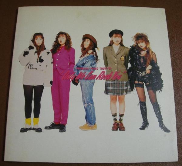mkm_E087 プリンセスプリンセス PANIC TOUR '91 パンフレット