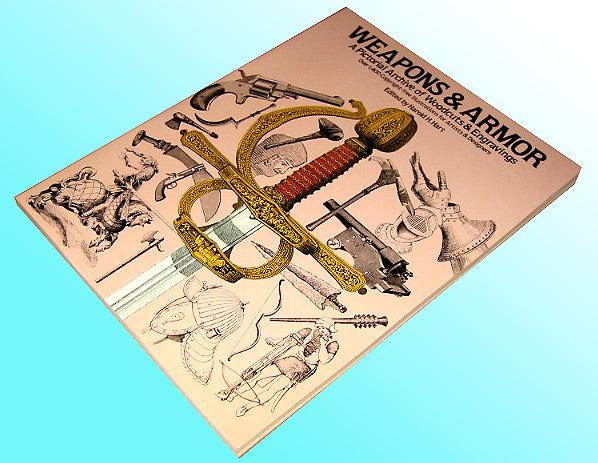 洋書 武器と鎧、冑: 彫刻家と芸術家ための1,400著作権フリーのイラスト/ Weapons and Armor: A Pictorial Archive of Woodcuts(輸入品)_画像1