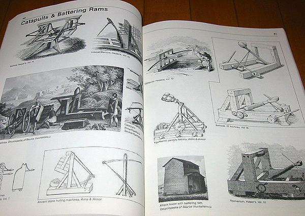 洋書 武器と鎧、冑: 彫刻家と芸術家ための1,400著作権フリーのイラスト/ Weapons and Armor: A Pictorial Archive of Woodcuts(輸入品)_画像2