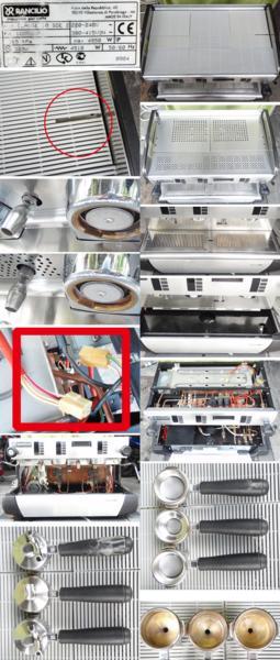 ◆OH済!RANCILIO/ランチリオ製エスプレッソマシンCLASSE10SDE2◆_画像2