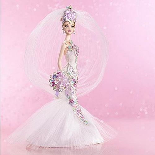 バービー ボブ・マッキー ブライダルオートクチュール (ゴールドラベル)輸入品/Bob Mackie Couture Confection Bride Barbie(輸入品_画像1