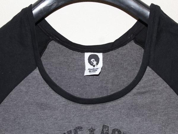 サディスティックアクション Sadistic Action レディース ラグラン チュニック Tシャツ NO22_画像2