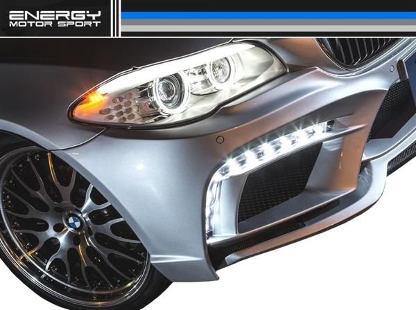 【M's】BMW 5シリーズ ツーリング ENERGY エアロ3点 FRP EVO11.2_画像4