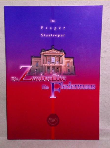 A-2【パンフ】プラハ歌劇場 魔笛/こうもり 2005年