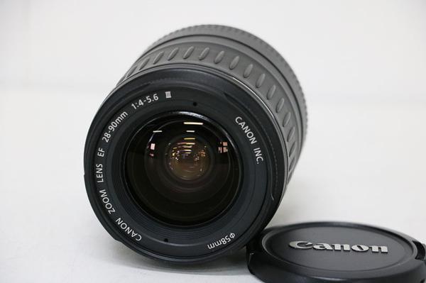 □Canon キャノン EF 28-90mm F4-5.6 Ⅲ レンズ 並品