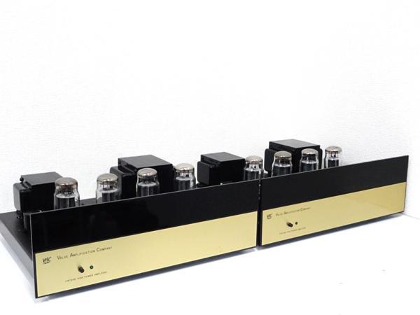 ■□【希少】VAC Valve Amplification Company MODEL V100 真空管モノラルパワーアンプ ペア □■001743025-2□■