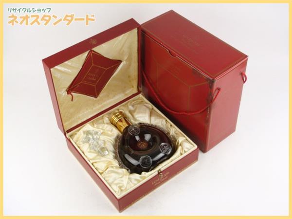 1円~ レミーマルタン ルイ13世 ブランデー 替栓 箱付き 未開栓 古酒