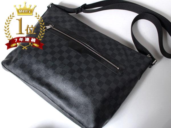 ■美品■Louis Vuitton ルイヴィトン ハワイ正規店購入本物 ダミエグラフィット ミックGM ショルダーバッグ N41105 メッセンジャーF1081