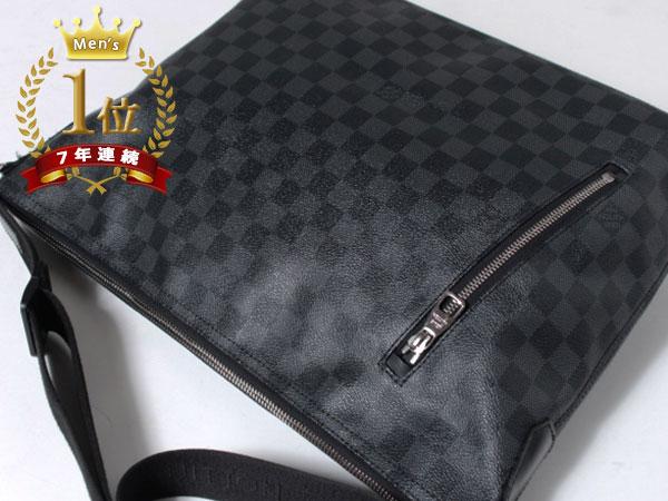 ■美品■Louis Vuitton ルイヴィトン ハワイ正規店購入本物 ダミエグラフィット ミックGM ショルダーバッグ N41105 メッセンジャーF1081_画像2