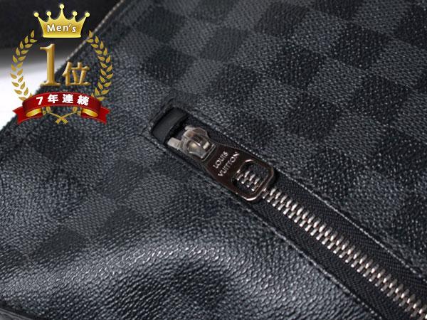 ■美品■Louis Vuitton ルイヴィトン ハワイ正規店購入本物 ダミエグラフィット ミックGM ショルダーバッグ N41105 メッセンジャーF1081_画像6