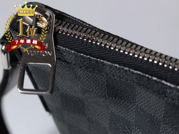 ■美品■Louis Vuitton ルイヴィトン ハワイ正規店購入本物 ダミエグラフィット ミックGM ショルダーバッグ N41105 メッセンジャーF1081_画像9