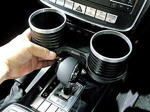 【M's】W463 ベンツ AMG Gクラス 後期用(2012y-)ALCABO 高級 ドリンクホルダー(BK+リング) G350 G550 G63 G65 ゲレンデ アルカボ AL-M314BS_※画像はブラック+リングの取付けサンプル