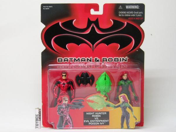 TB■ケナー 2パック バットマン&ロビン VSポイズン アイビー グッズの画像